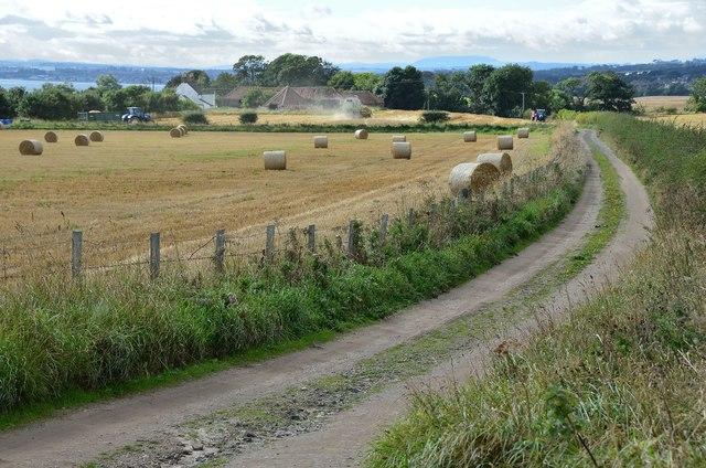 Track to Broomhall