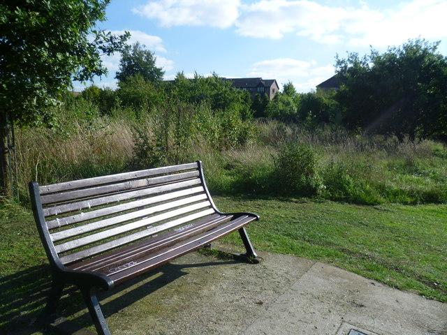 Seat on East Wickham Open Space