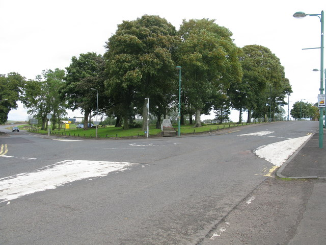 A70 / A721 Road Junction in Carnwath