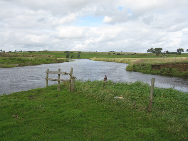 Confluence of the River Clyde and the Medwin Water