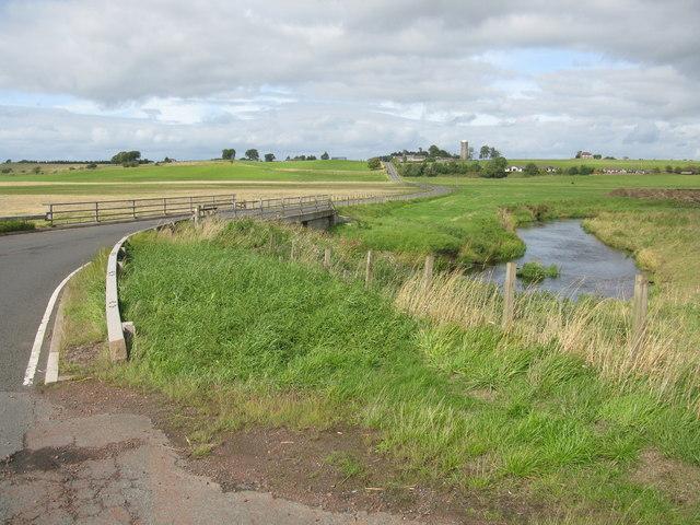 Roseburgh Bridge and the Medwin Water