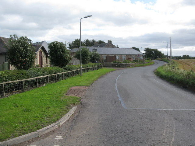 Entering Libberton from the North