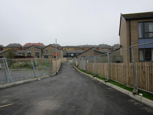 Lane to Dicks Hill Park, Stranraer