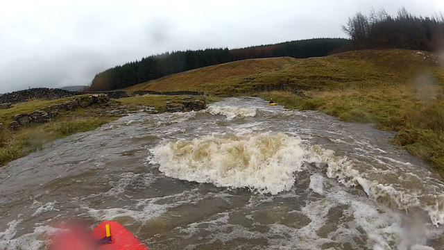 Ledge drops on Greenfield Beck
