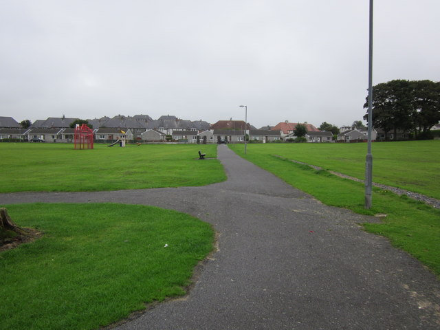 Path at King George V Playing Fields, Stranraer