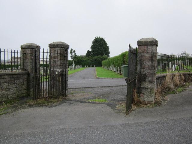Top Entrance to Glebe Cemetery, Stranraer