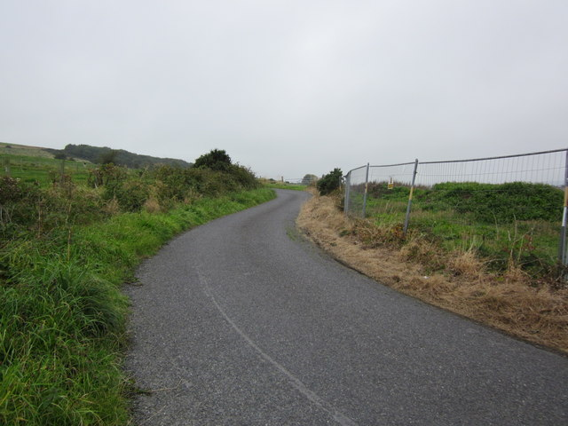 Road to Gallowhill House