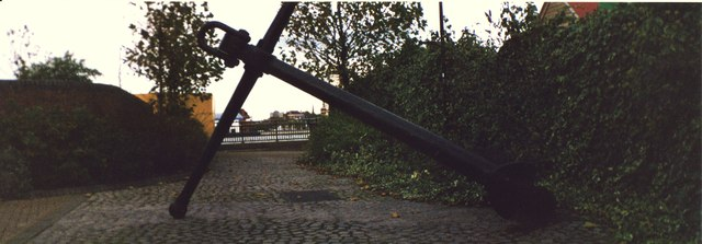 Anchor in Jew's Row
