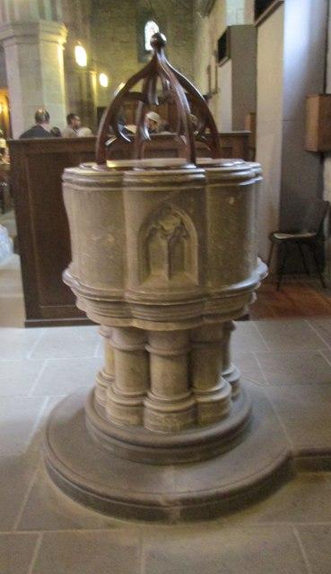 St Mary & St Cuthbert - Font