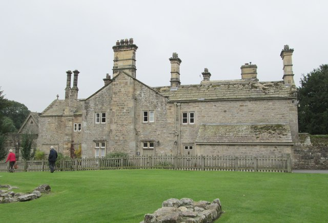 Rectory & Offices - viewed from Abbey ruins