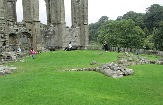 Chapter House ruins - Bolton Abbey