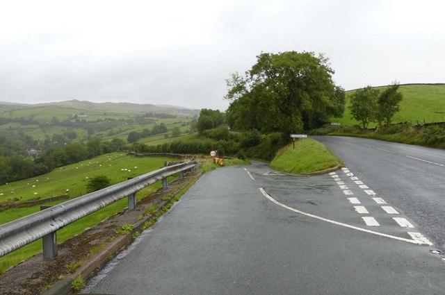Entrance to Longsleddale