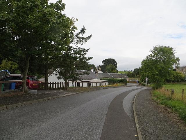 Road, Collessie