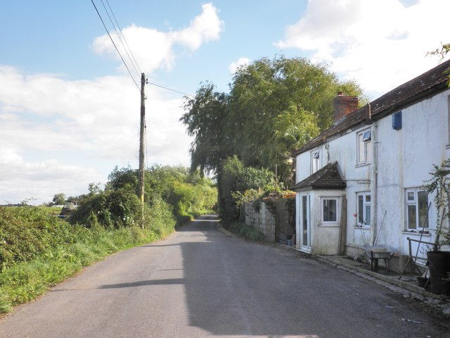 Roadside cottage, near Stathe