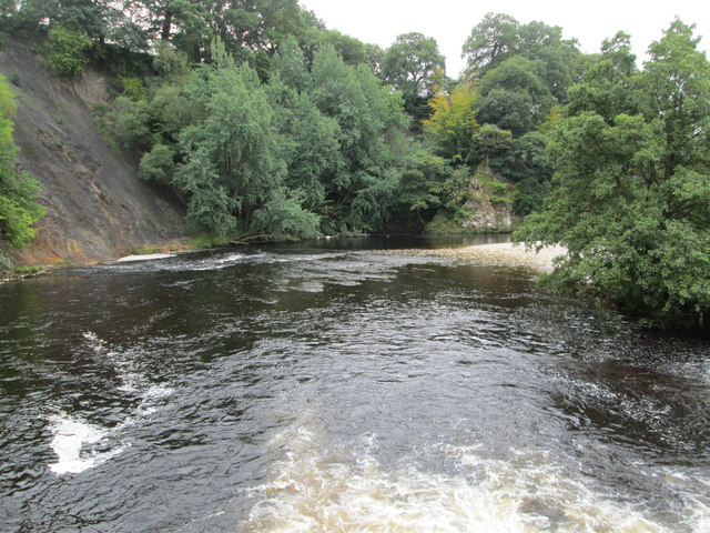 River Wharfe - viewed from Footbridge
