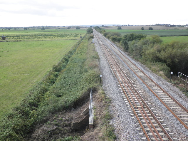 Main line from Paddington to Taunton