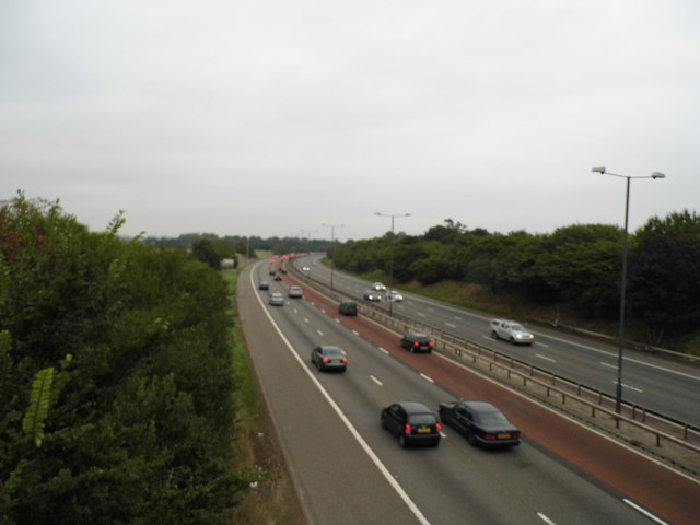 The M4 motorway, Osterley