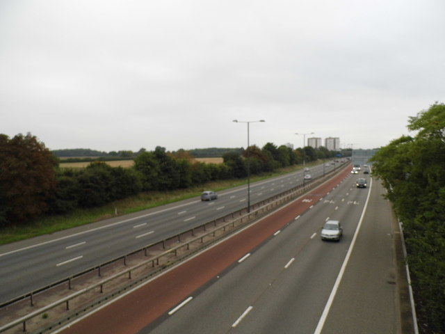 The M4 motorway, Osterley
