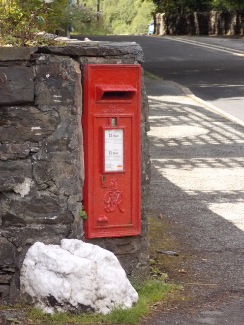 Betws-y-coed: postbox № LL24 117, Swallow Falls