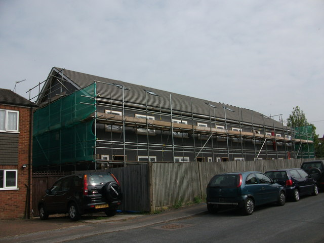 Former Police Station Site - building works (7)