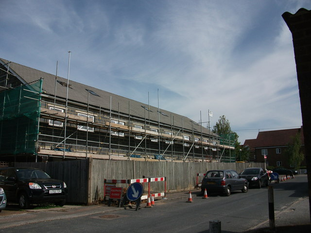 Former Police Station site - building works (8)