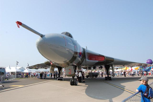 Vulcan  XH558 at Waddington Air Show 2013