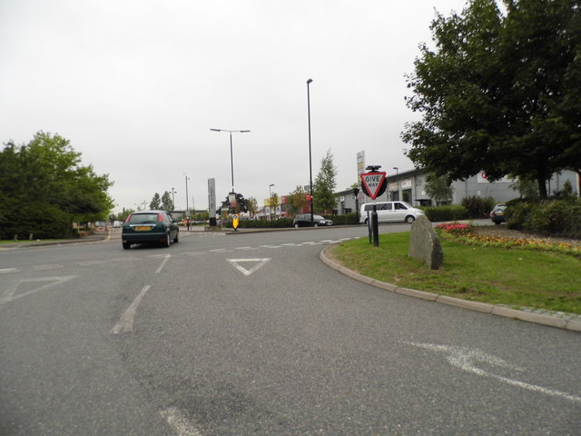 The entrance to Great Western Industrial Park on Windmill Lane