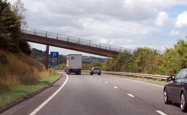 Tors Road bridge on the A30