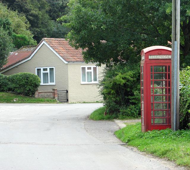 K6 telephone box in Edgefield Street