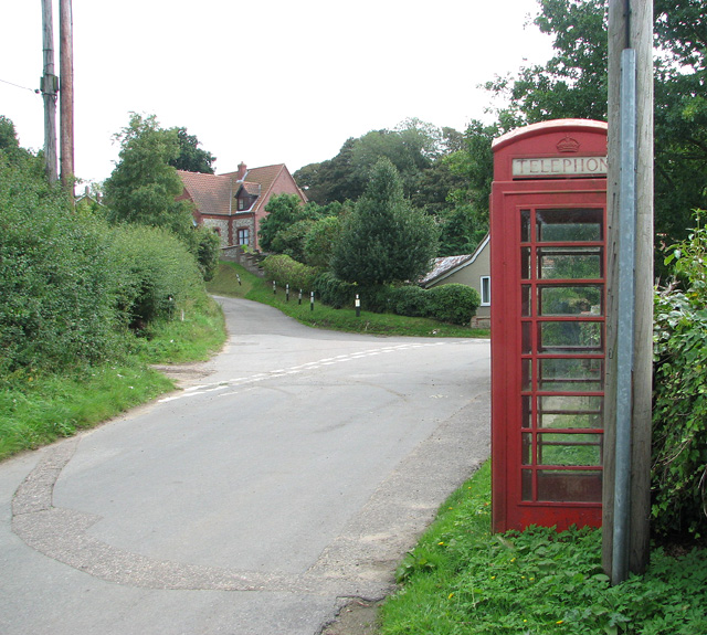 Road junction in Edgefield Street