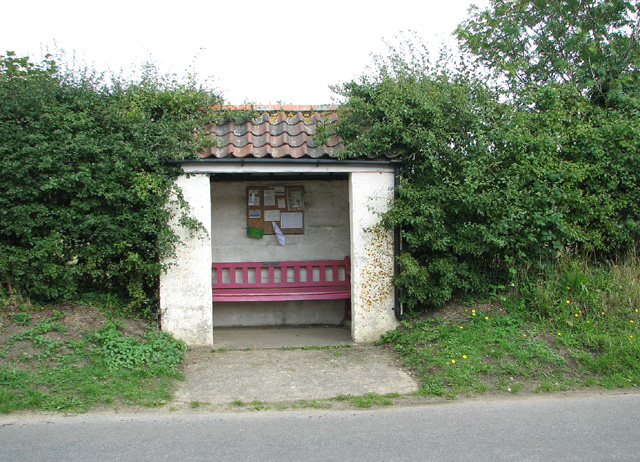 Bus shelter by Chapel Hill, Edgefield Street