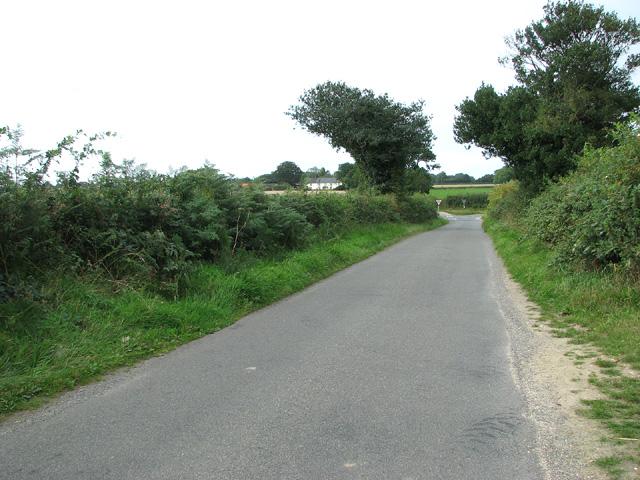View towards Norwich Road (B1149)