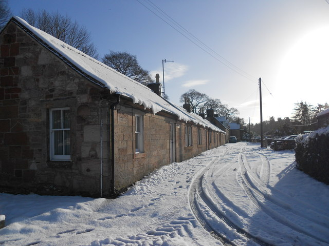 Carronbank row , Carronbridge