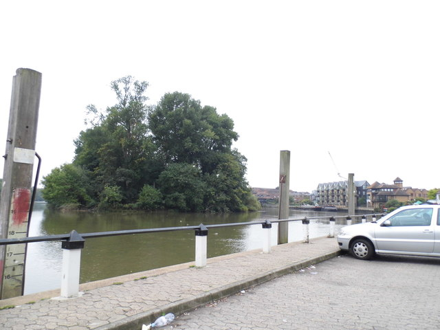 The River Thames and Isleworth Ait from Church Street
