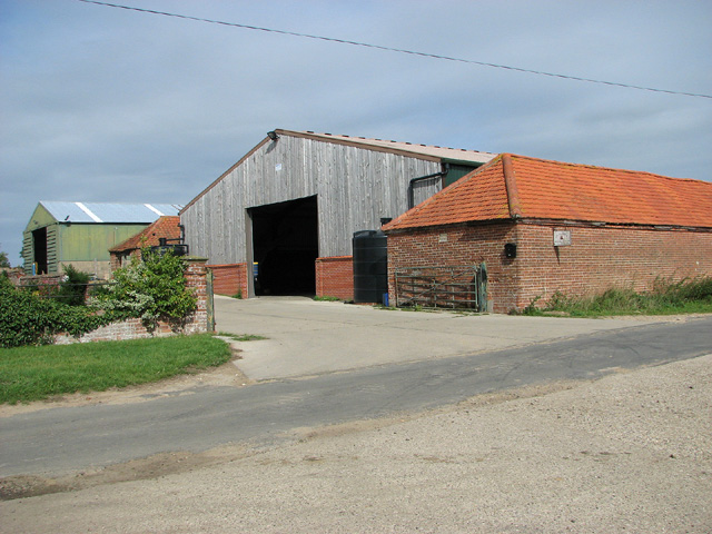 Sheds at Barningham Green Farm