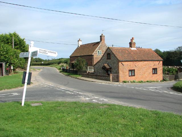 Cottages in Little Barningham