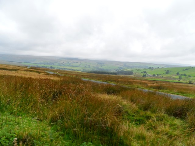 Road over Lythe Fell towards Slaidburn