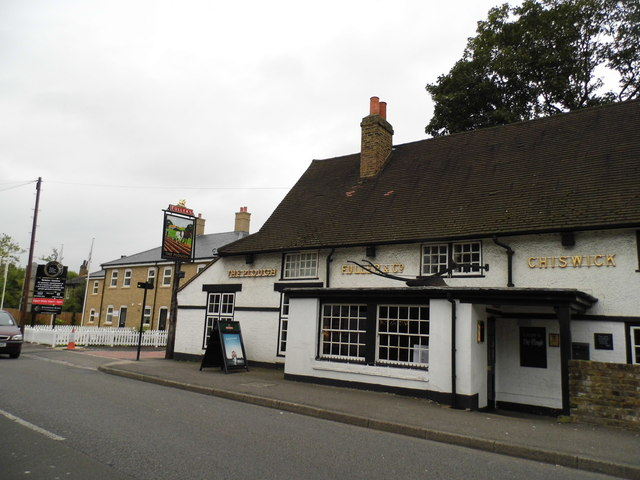 The Plough pub, Norwood Green