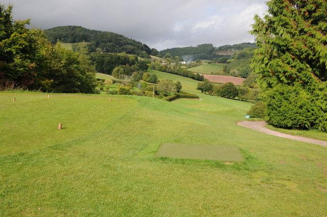 Golf course near Monmouth