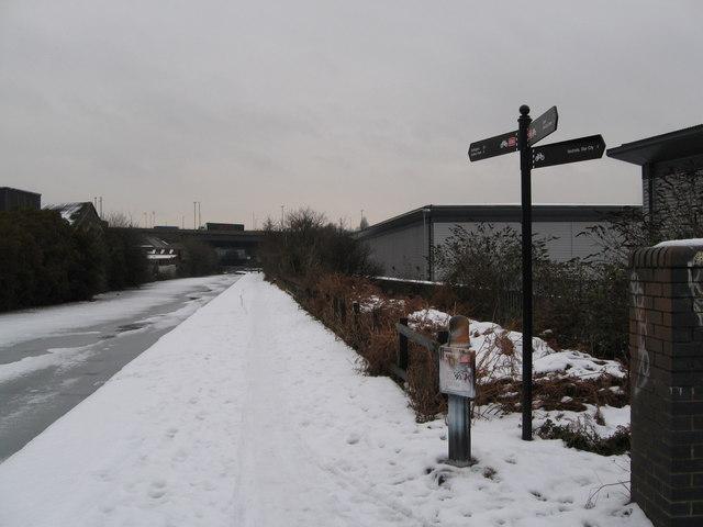 Aston under snow 4-Birmingham