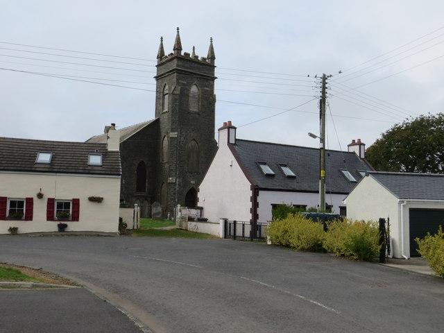 Stoneykirk and its church
