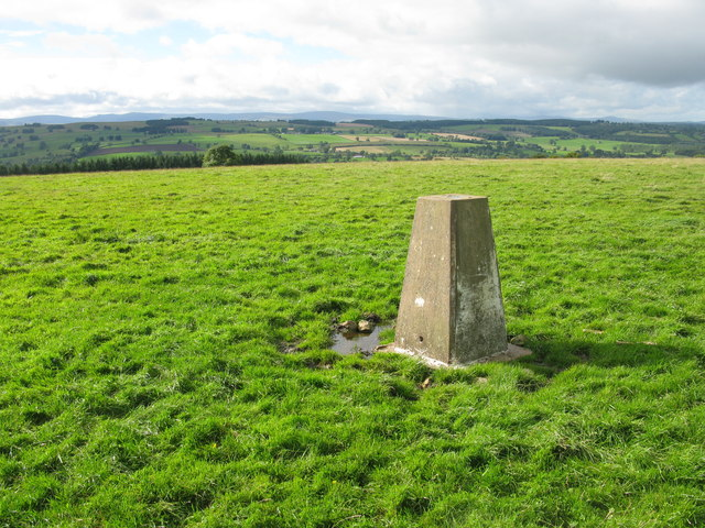 Trig Point, Maulds Meaburn Moor