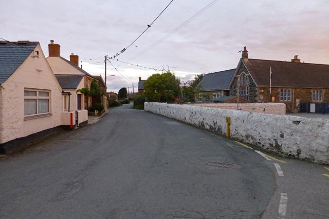 Road through Ruan Minor