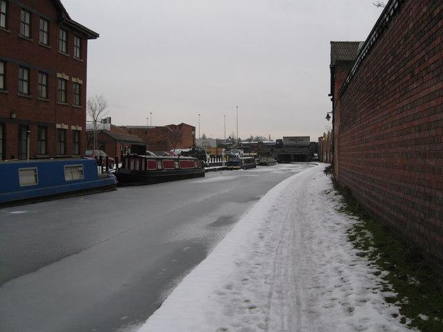 Aston under snow 7-Birmingham