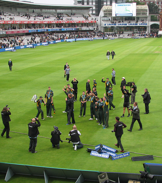 Lord's: we won the cup