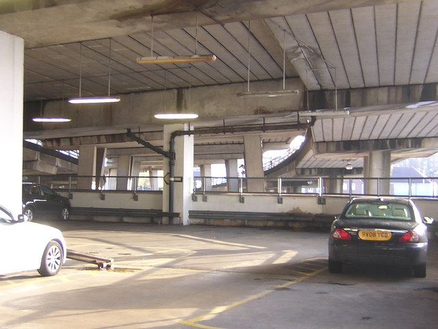 Croydon: Wandle Road multi-storey car park