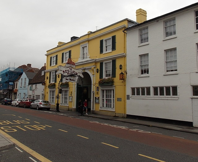 The Red Lion Hotel in Salisbury