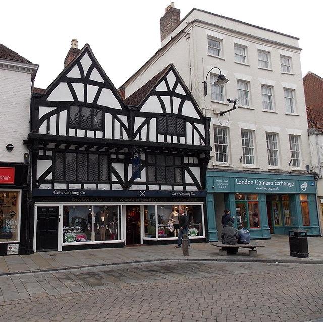 Ye House Of John A'Port in Salisbury
