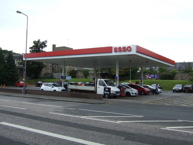 Service station on Willowbrae Road (A1)