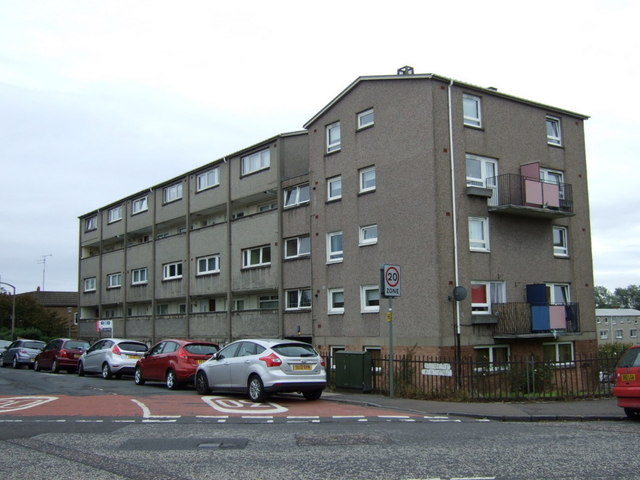 Block of flats on Northfield Farm Avenue